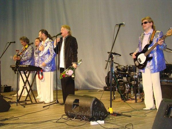 В Тобольске с двумя концертами выступила «Синяя птица»