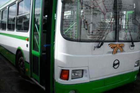 Во время празднования Дня Победы в Тобольске изменится схема движения автотранспорта