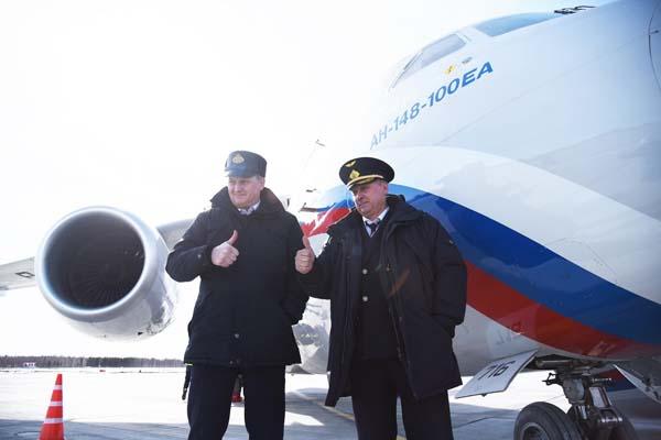 «Посадку разрешаю». Аэропорт Тобольска принял первый самолет