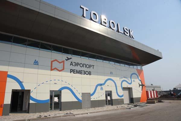 15 л чистой воды в секунду: компания СУЭНКО построила водопровод для нового аэропорта Тобольска